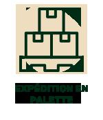 Expédition en palette