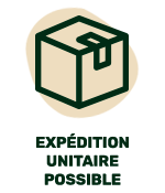 Expédition unitaire possible