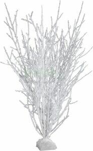 Bouleaux cépés floqués blanc